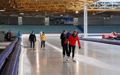 Aanloop naar winterseizoen / schaatsen