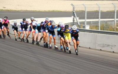 NK Marathon op circuit Zandvoort voor Hilde